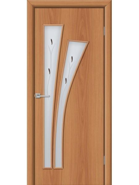 Межкомнатная дверь Веер Миланский Орех