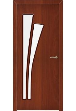 Межкомнатная дверь Веер Итальянский Орех