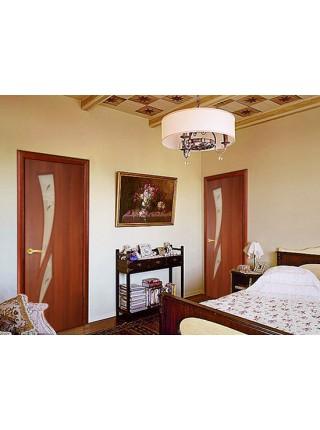 Межкомнатная дверь Стрелиция Итальянский орех