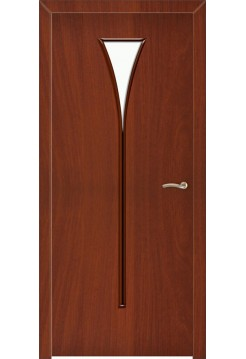 Межкомнатная дверь Рюмка Итальянский Орех