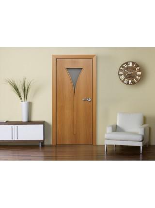 Межкомнатная дверь Рюмка Миланский Орех