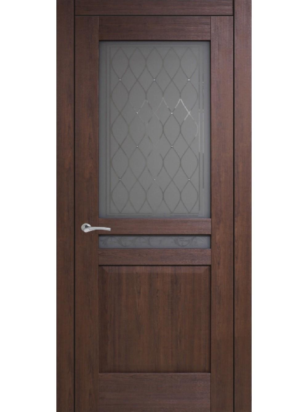 Межкомнатная дверь Италия 3( Остекленное полотно)
