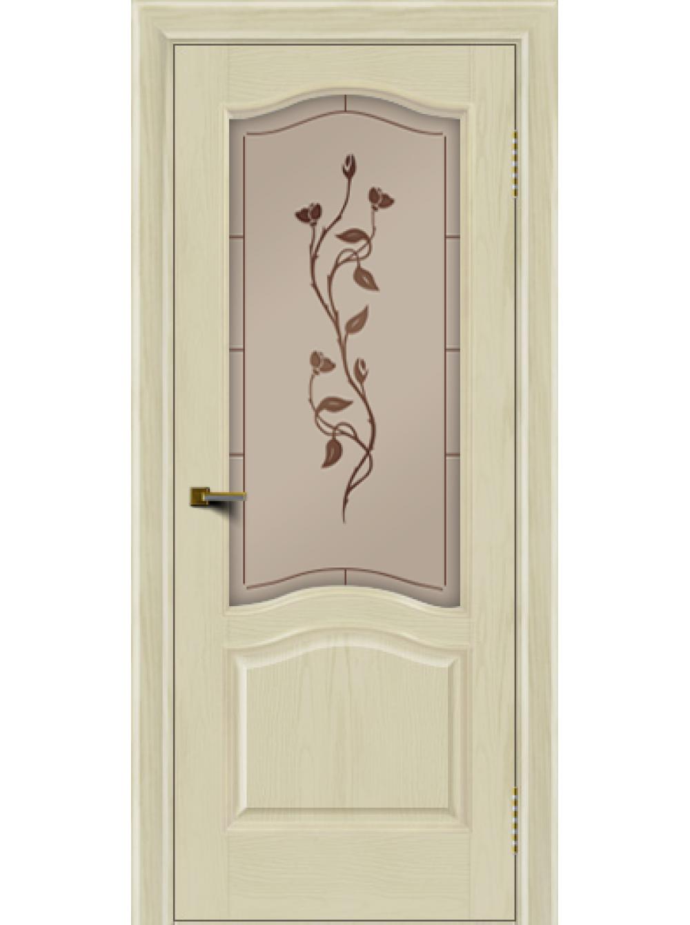 Межкомнатная дверь Пронто (Остекленное полотно)