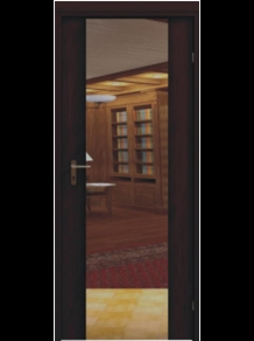 Межкомнатная дверь Европа 3 зеркало (Остекленное полотно)