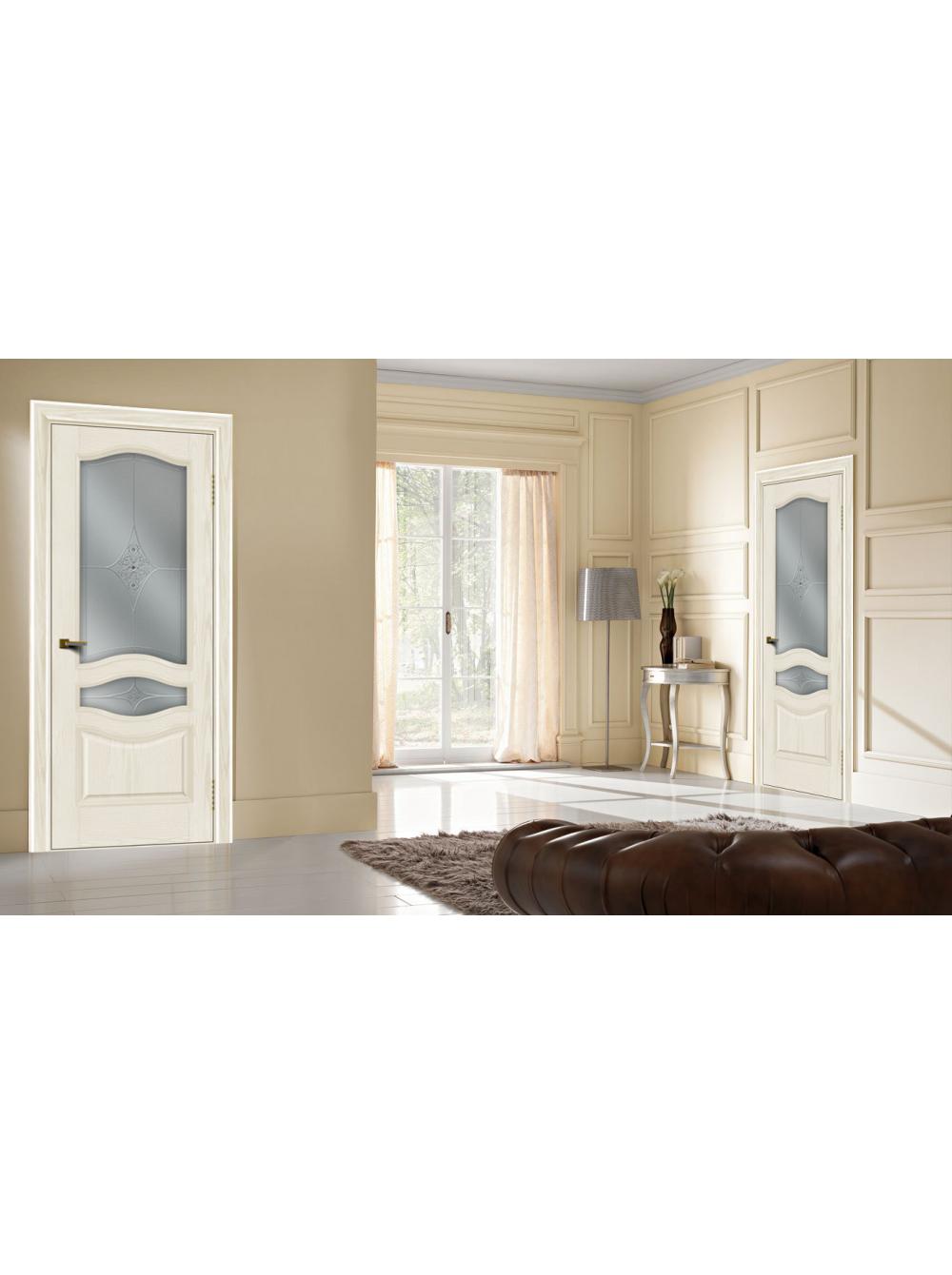 Межкомнатная дверь Амелия(Остекленное полотно)