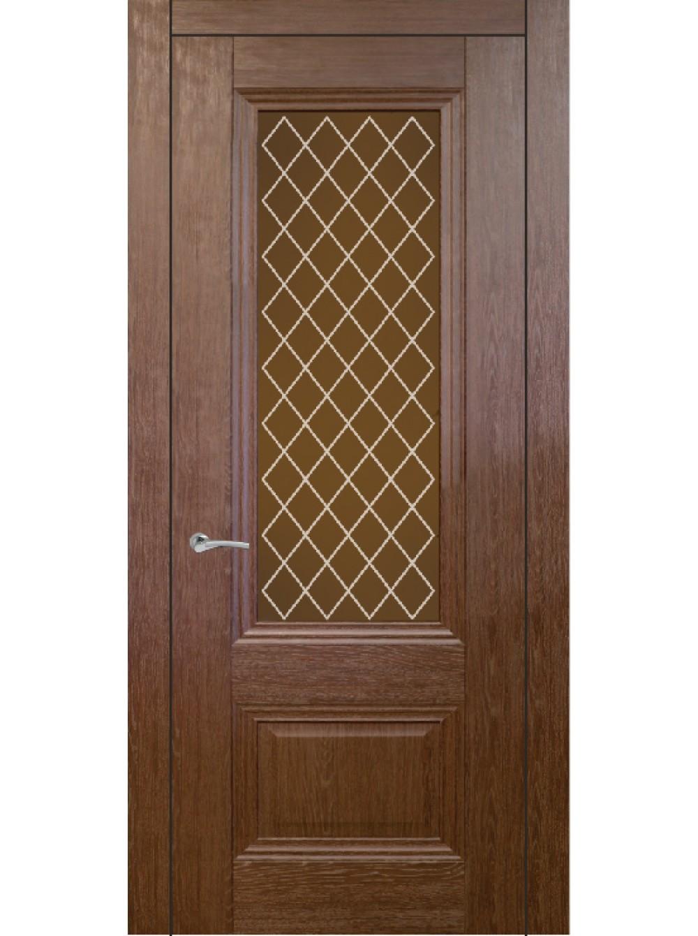 Межкомнатная дверь Барселона 1(Остекленное полотно)