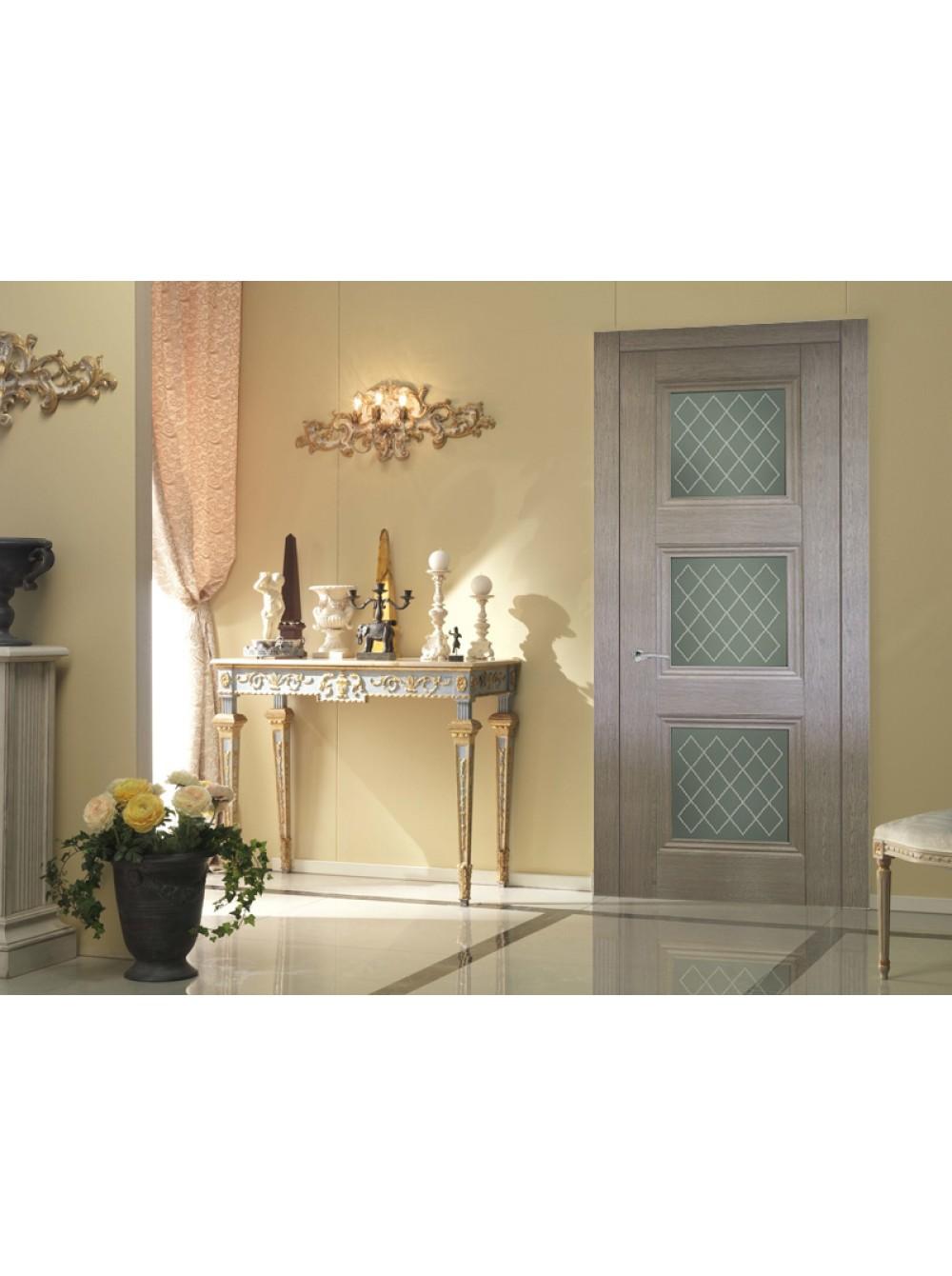 Межкомнатная дверь Барселона 3(Остекленное полотно)