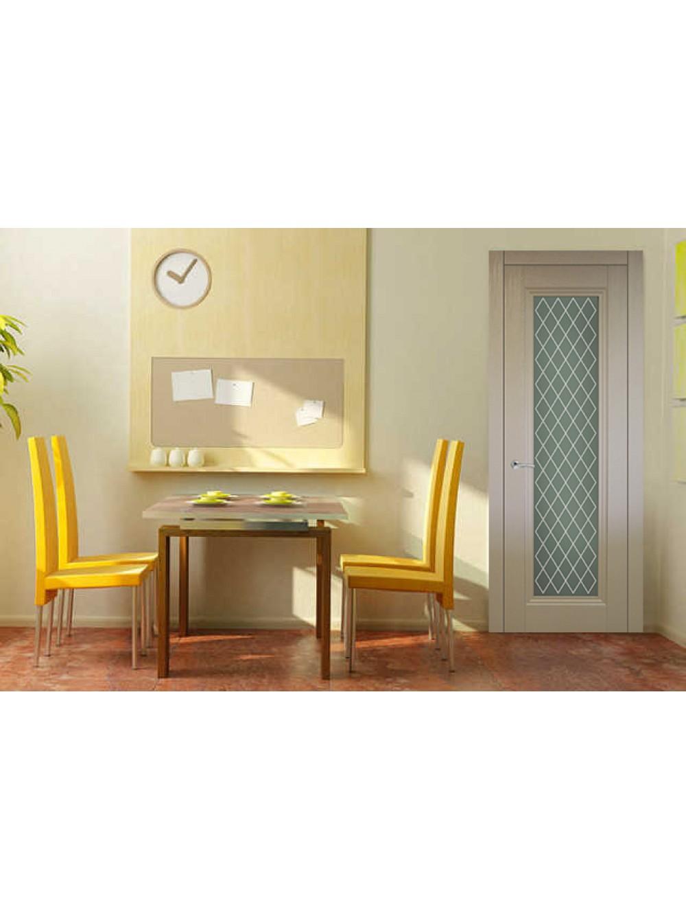 Межкомнатная дверь Барселона 4(Остекленное полотно)