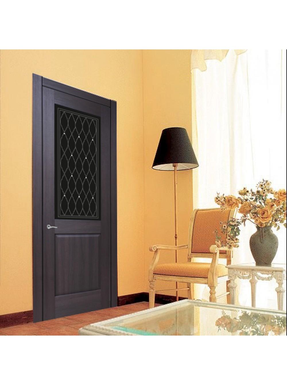 Межкомнатная дверь Италия 1 (Остекленное полотно)