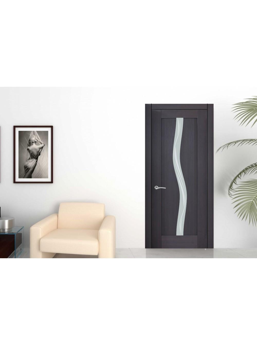 Межкомнатная дверь Италия 10(Остекленное полотно)