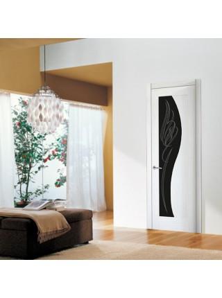 Межкомнатная дверь Италия 11(Остекленное полотно)