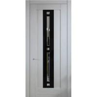 Межкомнатная дверь Италия 12 с фацетом (Остекленное полотно)