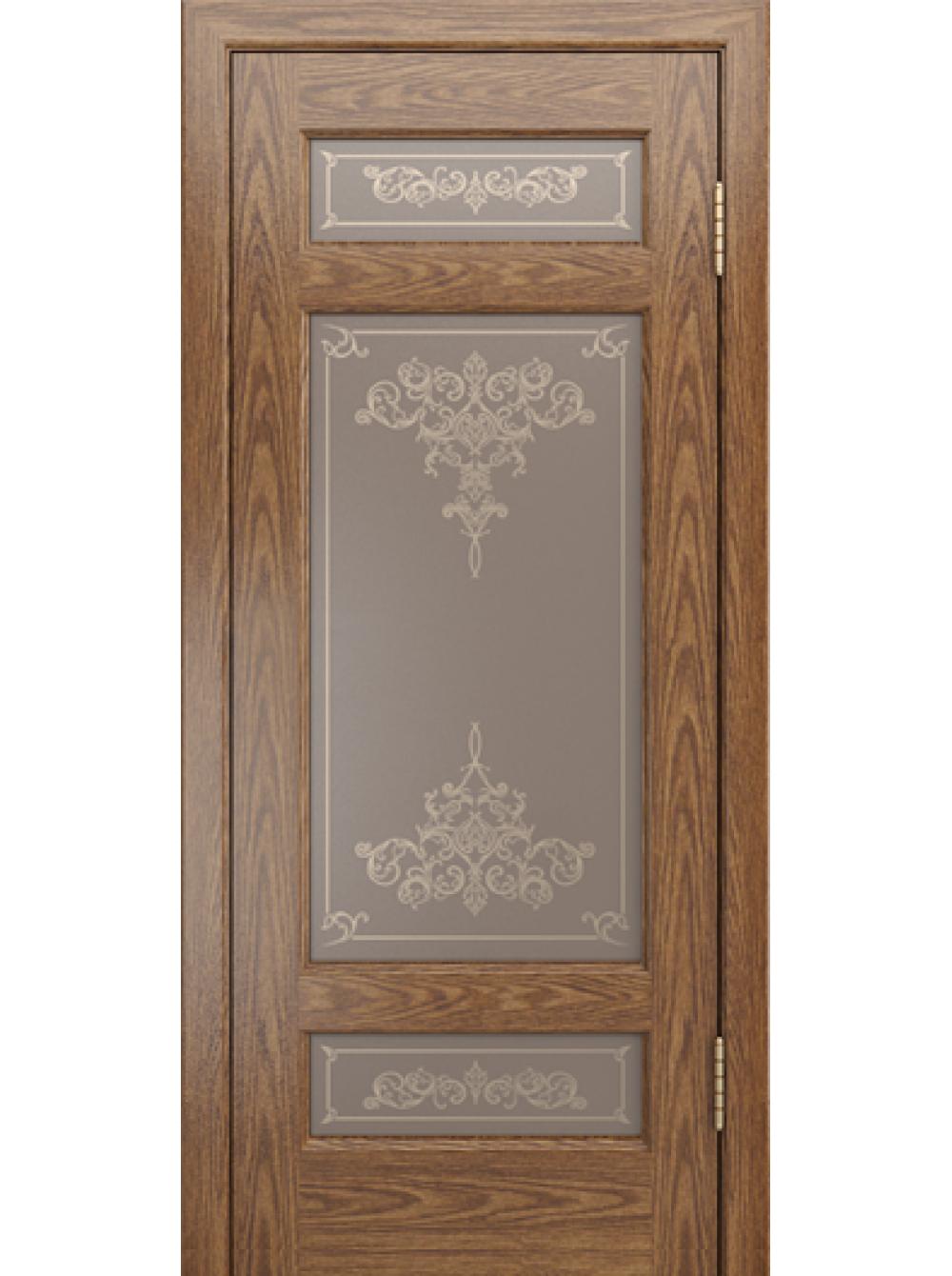 Межкомнатная дверь Мишель-К(Остекленное полотно)