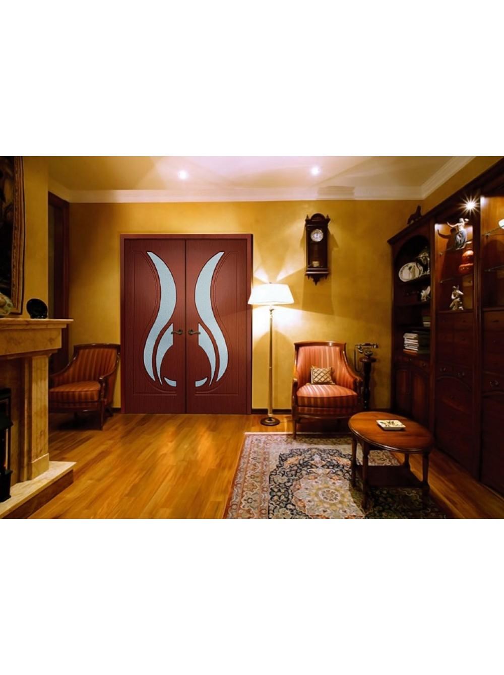 Межкомнатная дверь Новый стиль(Остекленное полотно)