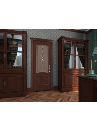 Межкомнатная дверь Оливия(Остекленное полотно)