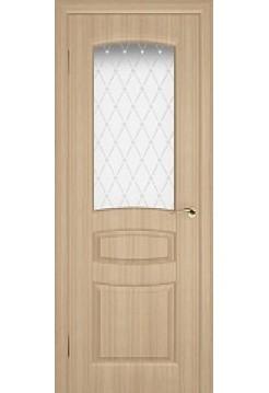 Межкомнатная дверь TLC - E(Остекленное полотно)