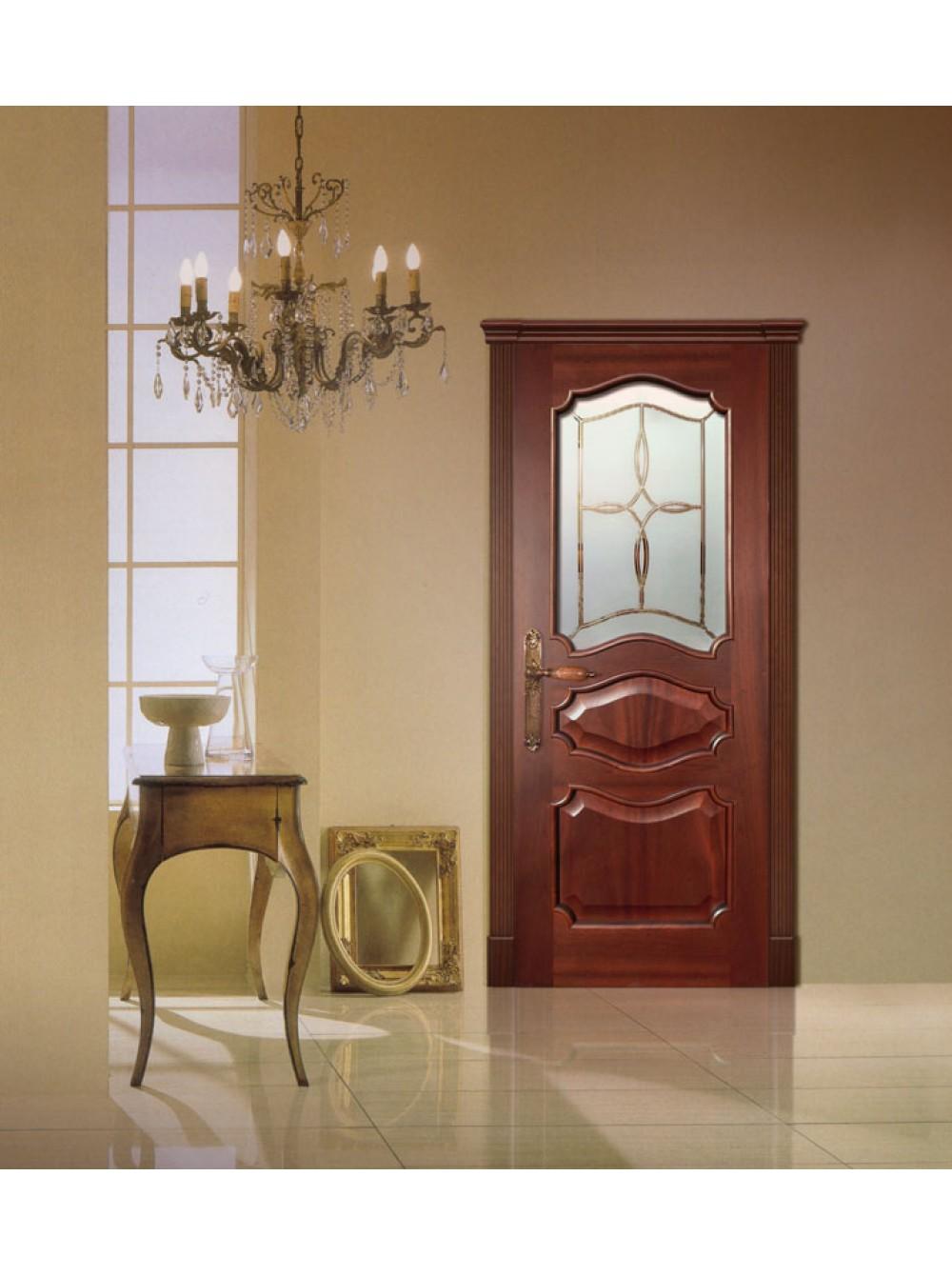 Межкомнатная дверь Валенсия(Остекленное полотно)