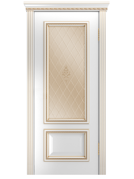 Межкомнатная дверь Виолетта-Д(Остекленное полотно)