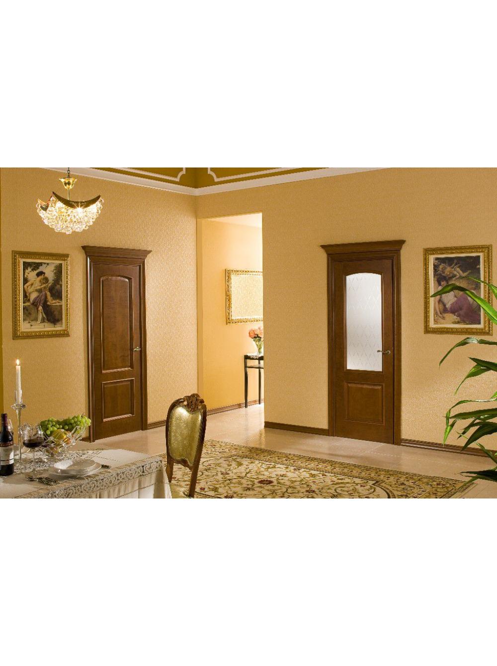 Межкомнатная дверь Виолетта(Остекленное полотно)