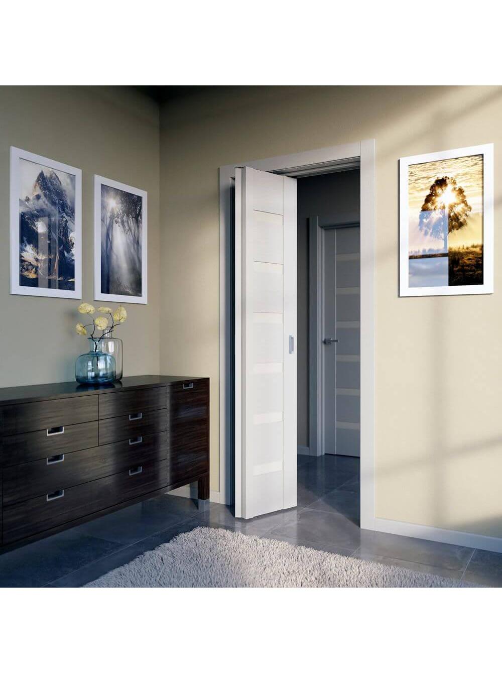 """Межкомнатная дверь ПО 7X  """"Книжка"""""""