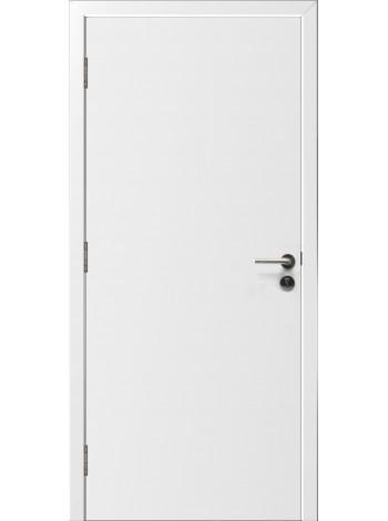 Противопожарная дверь Гладкая белая