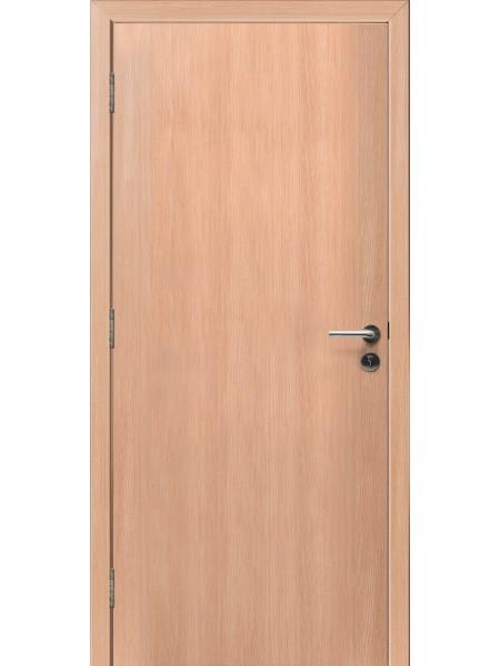 Противопожарная дверь Дуб Беленый 3D