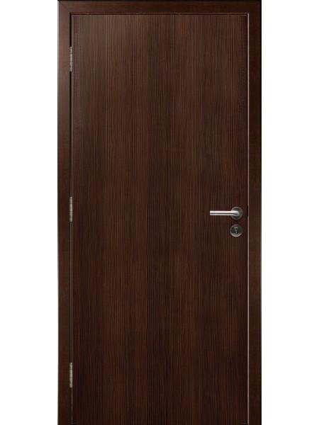 Противопожарная дверь Дуб Венге 3D