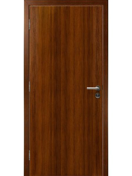 Противопожарная дверь Орех Грецкий 3D