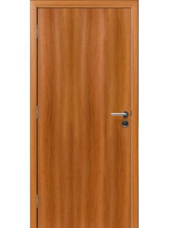 Противопожарная дверь Орех Карамельный 3D
