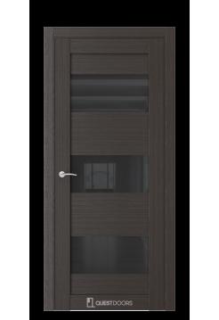 Межкомнатная дверь Q53 орех макадамия