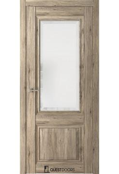 Межкомнатная дверь QH 2 в интерьере