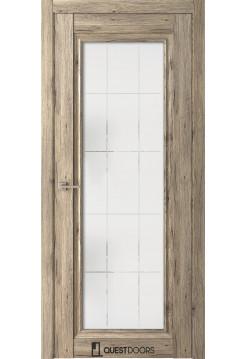 Межкомнатная дверь QH6 дуб эссе