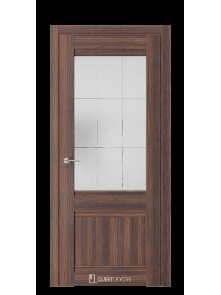 Межкомнатная дверь QS2 дуб торонто