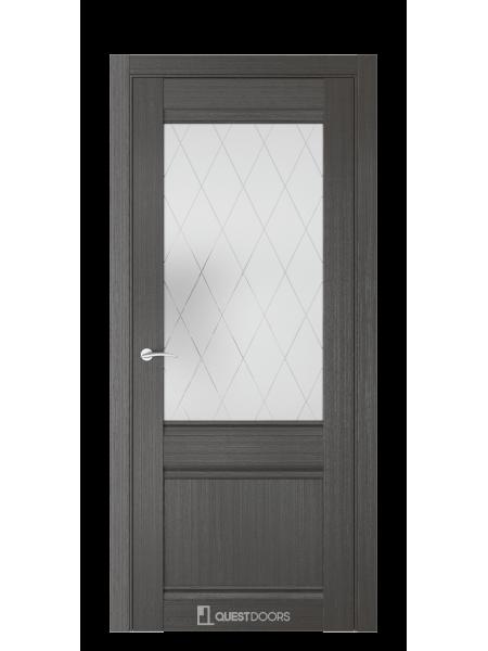 Межкомнатная дверь QS орех макадамия