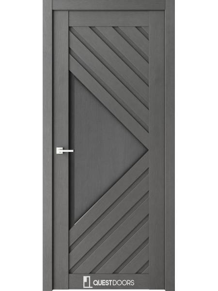Межкомнатная дверь QZ11 сильвер