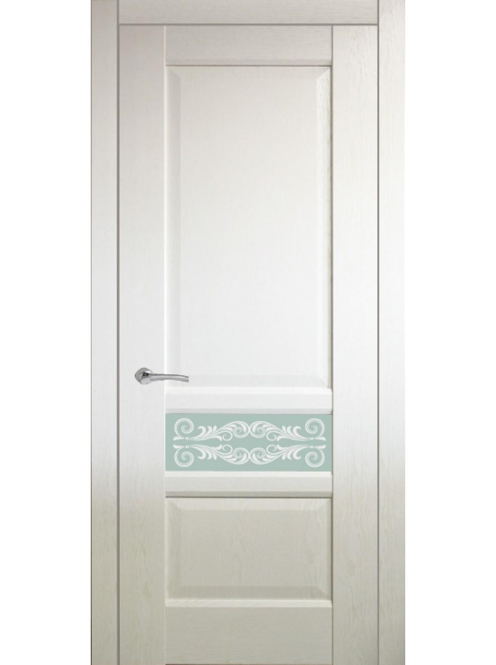Межкомнатная дверь Венеция 2 (Остекленное полотно)