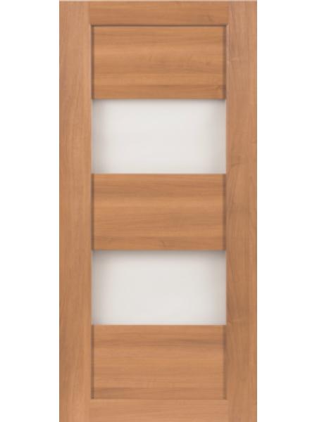 Межкомнатная дверь СО2 Орех карамельный