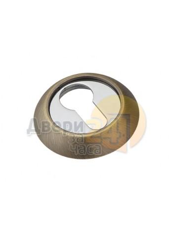 Накладка на ключевой цилиндр SC 001 CAFE