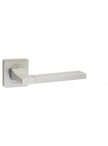 """Ручка дверная """"AL 524-02 PW/CP"""", жемчужный/хром блестящий"""