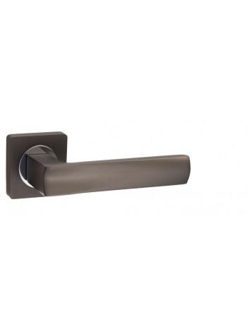 """Ручка дверная """"AL 527-02 MBN"""", матовый черный никель"""