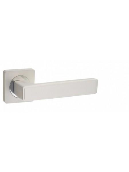 """Ручка дверная """"AL 534-02 PW/CP"""", жемчужный/хром блестящий"""