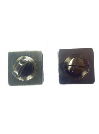 Накладка на цилиндр к ручкам BK AL 02, бронза чёрная с патиной