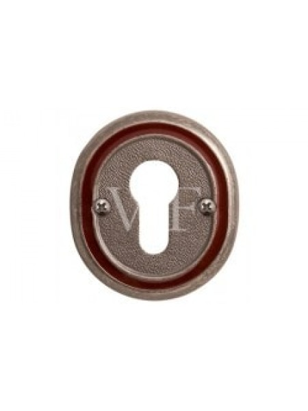 """Накладка под сув. ключ к ручке """"Беладжио"""", серебро античное с эмалью"""