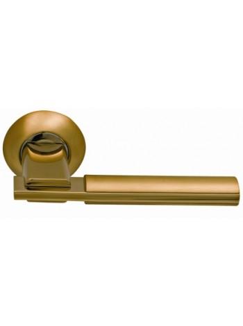 Дверная ручка SILLUR 94A S.GOLD/P.GOLD