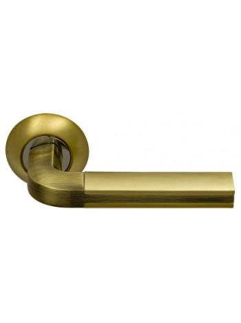 Дверная ручка SILLUR 96 S.GOLD/BR