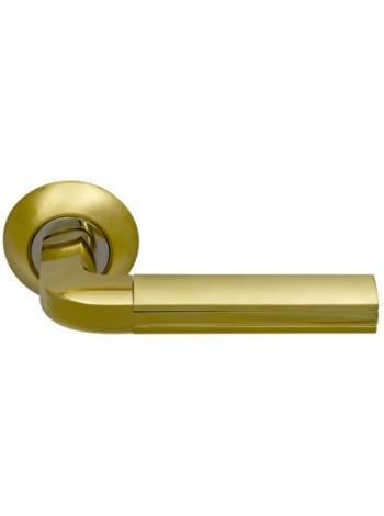Дверная ручка SILLUR 96 S.GOLD/P.GOLD