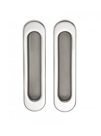 Ручка для раздвижной двери SILLUR A-KO5-VO P.CHROME/S.CHROME