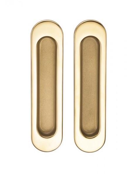 Ручка для раздвижной двери SILLUR A-KO5-VO P.GOLD/S.GOLD