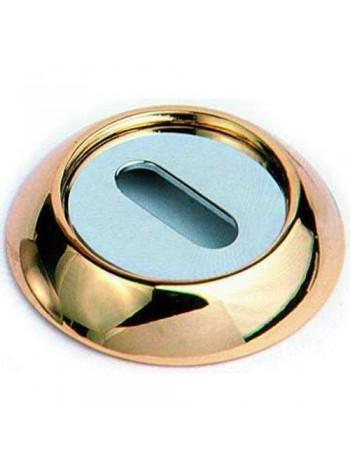 Накладка на евроцилиндр SILLUR OB P.GOLD