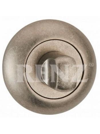 Завертка к ручкам RENZ, серебро античное